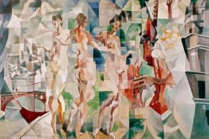 La Ciudad de Paris, 1910 by Robert Delaunay