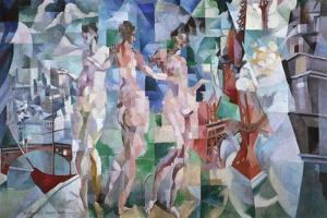 La ville de Paris by Robert Delaunay