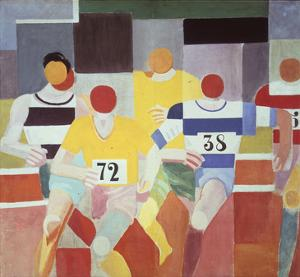 Les Coureurs (The Runners), 1925-26 by Robert Delaunay