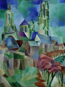 Les Tours de Laon (The Towers of Laon), 1912 by Robert Delaunay