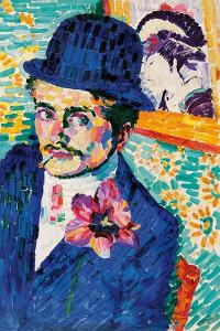 Man with a Tulip by Robert Delaunay