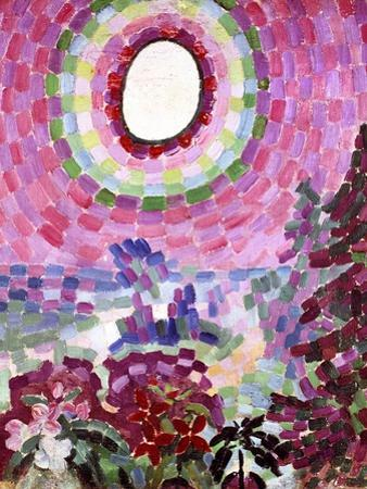Passage with Disc,1906 by Robert Delaunay
