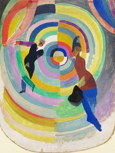 Political Drama, 1914 by Robert Delaunay
