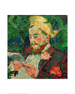 Portrait of Henry Carlier, 1906 by Robert Delaunay