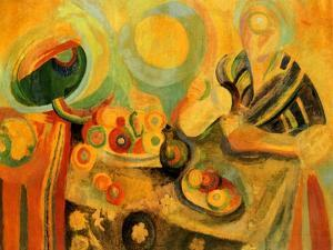 Pouring, 1915-16 by Robert Delaunay