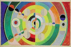 Relief-Disques, 1936 by Robert Delaunay