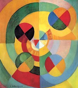 Rhythm, Joy of Living (Rythme, Joie de Vivre) by Robert Delaunay