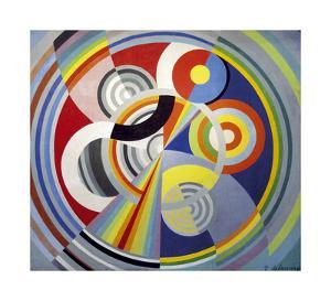 Rhythm Number 1, 1938 by Robert Delaunay