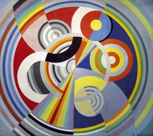 Rhythm Number 1, 1938 by Robert Delaunay