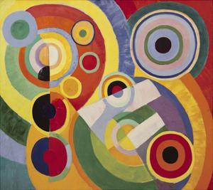 Rythme, Joie de Vivre, 1930 by Robert Delaunay