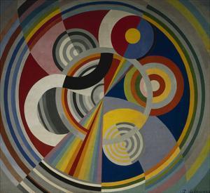 Rythme numéro 1 by Robert Delaunay