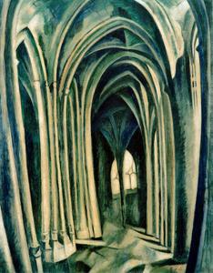 Saint-Séverin No. 3. 1909-1910 by Robert Delaunay