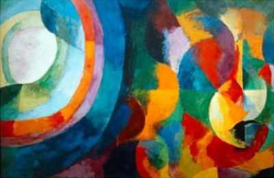 Simultaneous Contrasts: Sun and Moon, 1912-1913