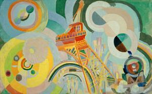 Study for Air, Iron, Water, 1936/1937 by Robert Delaunay