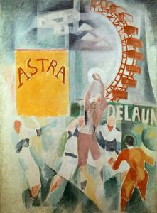 The Cardiff Team Astra, 1912/1913 by Robert Delaunay
