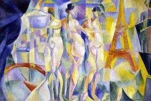 The City of Paris (La Ville De Paris) by Robert Delaunay