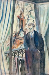 The Poet Philippe Soupault, 1922 by Robert Delaunay