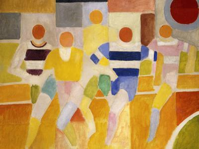 The Runners, 1926 by Robert Delaunay