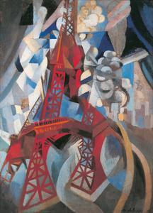 The Tour Eiffel and Paris, 1911-1912 by Robert Delaunay