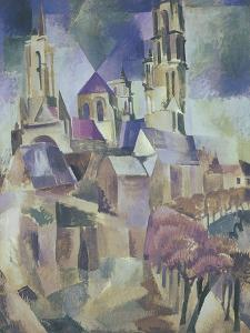 The Towers of Laon, 1912 by Robert Delaunay