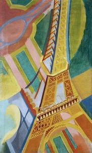Tour Eiffel by Robert Delaunay