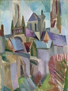 Towers of Laon, 1912 by Robert Delaunay
