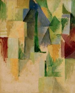 Window, 1912/13 by Robert Delaunay