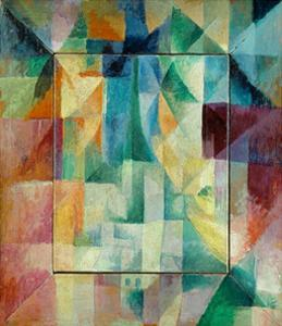 Window Picture, 1912 by Robert Delaunay