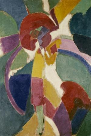 Woman with a Parasol, 1913