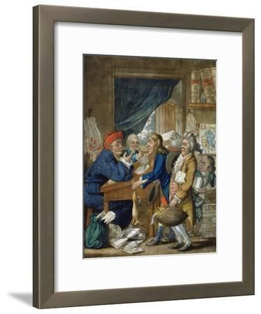 A Country Attorney and His Clients, Pub. by Bowles and Carver, 1800