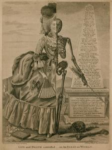 Life and Death Contrasted - or an Essay on Woman by Robert Dighton