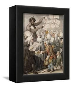 The First Day of Term, or the Devil Among Lawyers by Robert Dighton