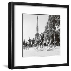 Champs de Mars Gardens by Robert Doisneau