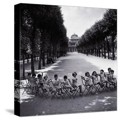 Children in the Palais-Royal Garden, c.1950