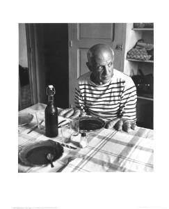 Les Pains de Picasso, Vallauris 1952 by Robert Doisneau