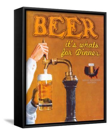 Beer: It's What's for Dinner