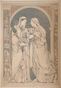 A Marble Mosaic Picture, by The Baron H. De Triqueti, Paris', 1893 by Robert Dudley