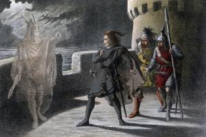 A Scene from Macbeth, C17th Century by Robert Dudley