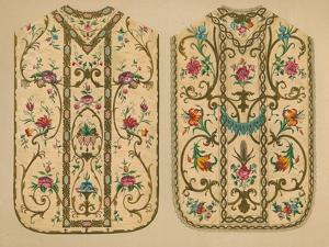 Embroidered Chasubles by Luigi & Ersilia Martini', 1893 by Robert Dudley