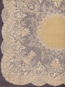 'Handkerchief of Brussels Lace', 1863 by Robert Dudley