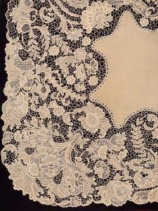 'Handkerchief of Lace of Irish Manufacture', 1863 by Robert Dudley