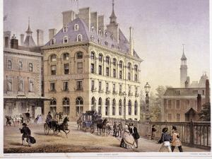 London Bridge Station, Bermondsey, London, C1860 by Robert Dudley