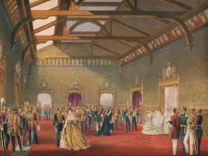 'Marshalling The Procession of the Bride', 1863 by Robert Dudley