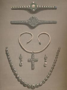 'Necklace, Earrings, Bracelets Wedding gifts presented to Alexandra of Denmark', 1863 by Robert Dudley