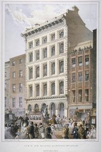 New Buildings in Cheapside (Nos 107 and 10), City of London, 1860 by Robert Dudley