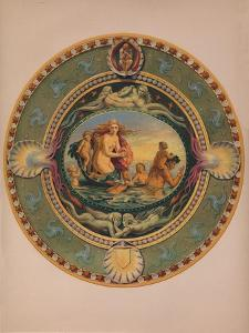 'Plateau in Majolica Ware', 1863 by Robert Dudley