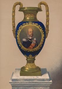 'Porcelain Vase', 1863 by Robert Dudley