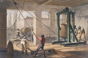 Telegraph Wire at the Greenwich Works, C1865 by Robert Dudley