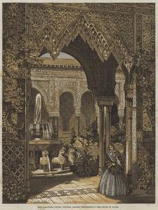 The Alhambra Court, Crystal Palace, Entrance to the Court of Lions by Robert Dudley
