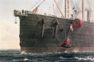The laying of the transatlantic telegraph cable, August 8th, 1866 by Robert Dudley